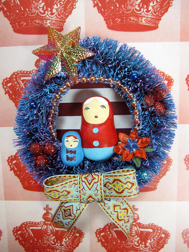 Matryoshka Wreath, Pollyanna's Fairytale! 2