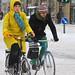 Winter Traffic Copenhagen Yellow