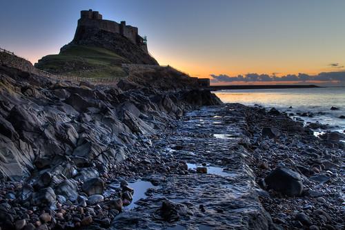 Lindisfarne Castle HDR