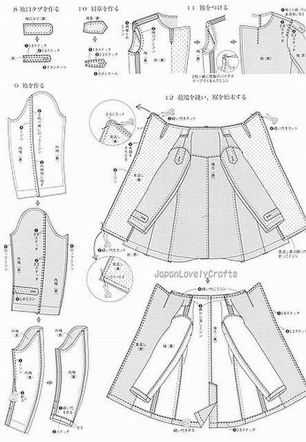 MEN S COAT BY RYUICHIRO SHIMAZAKI - JAPANESE SEWING PATTERN BOOK FOR