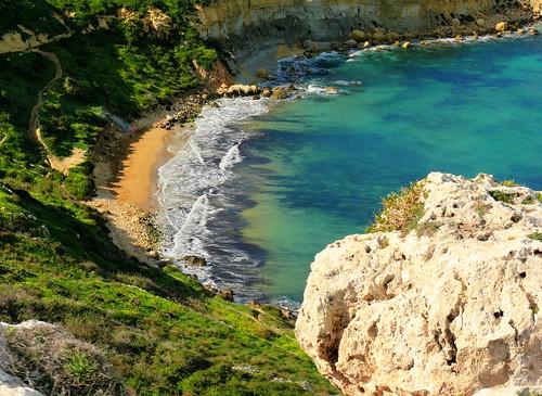 L-Imgiebah Beach, Selmun, Malta