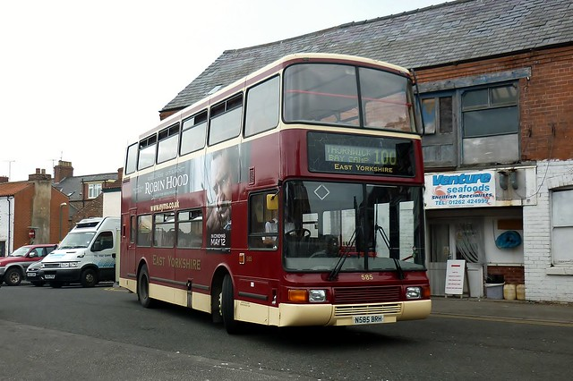 N585BRH East Yorkshire Volvo Olympian 585 by Sharksmith