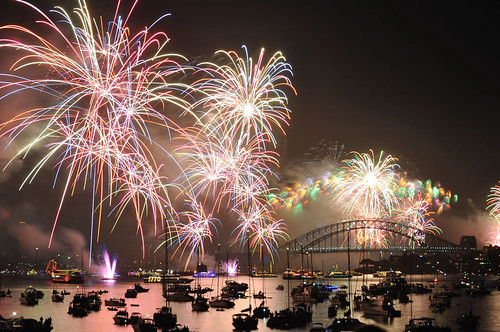 Sydney New Year Eve 2011 Fireworks