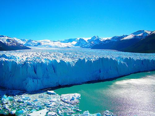 blue sky lake gelo nature argentina azul lago natureza hill céu iceberg peritomoreno glaciar montanha elcalafate