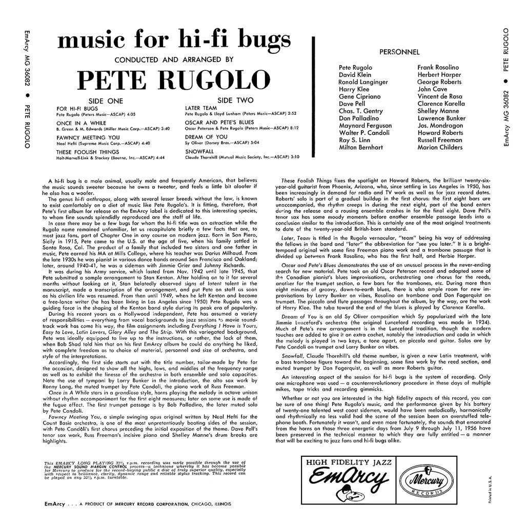 Pete Rugolo - Music for Hi-Fi Bugs