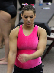 TWU Gymnastics Floor - Kristin Edwards