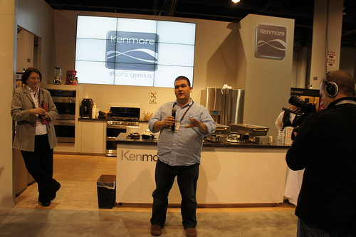 Hosting duties for Kenmore at CES