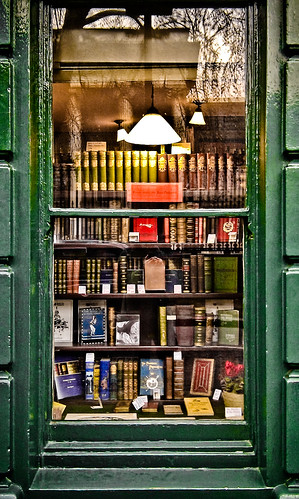 Bookshop Window by garryknight