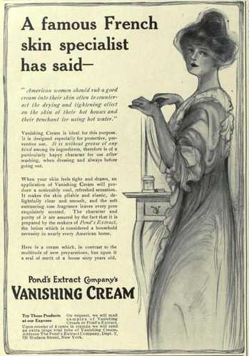 Pond's Vanishing Cream ad, 1914