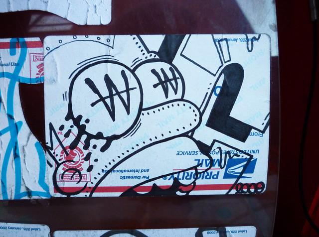 Priority Mail Sticker Graffiti Overconsume | Flickr -...