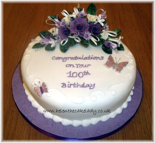 Images Of Round Birthday Cake : photo