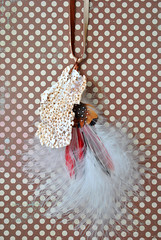 DIY Feather + Shell Necklace