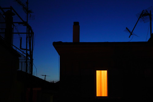 city blue light chimney orange house window dusk room silhouettes aerial greece getty ioannina ελλάδα ιωάννινα pixopolitan subgetty
