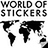 the WORLD OF STICKERS group icon