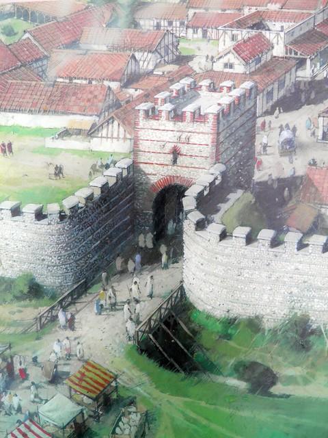 The North Gate, Calleva Atrebatum
