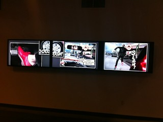 Our iAd on three plasmas @ TBWA\Chiat\Day