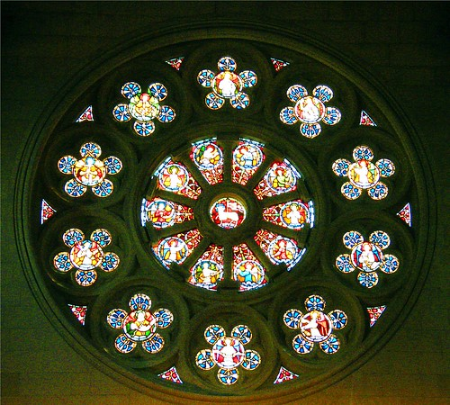 Stained Glass at Christchurch Cathedral