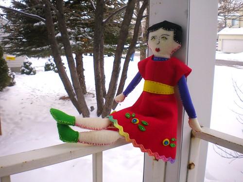 Muñeca para la pequeña Kamila