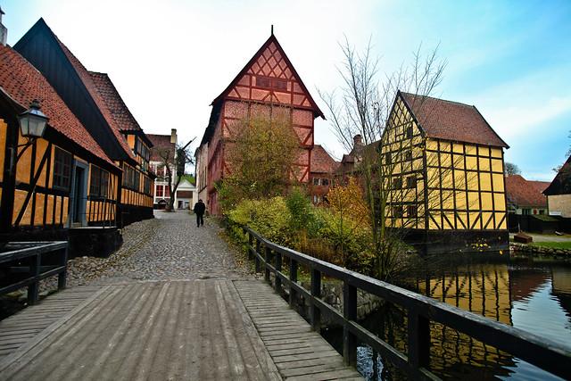 dk midtjylland arhus landmarks den gamle by.