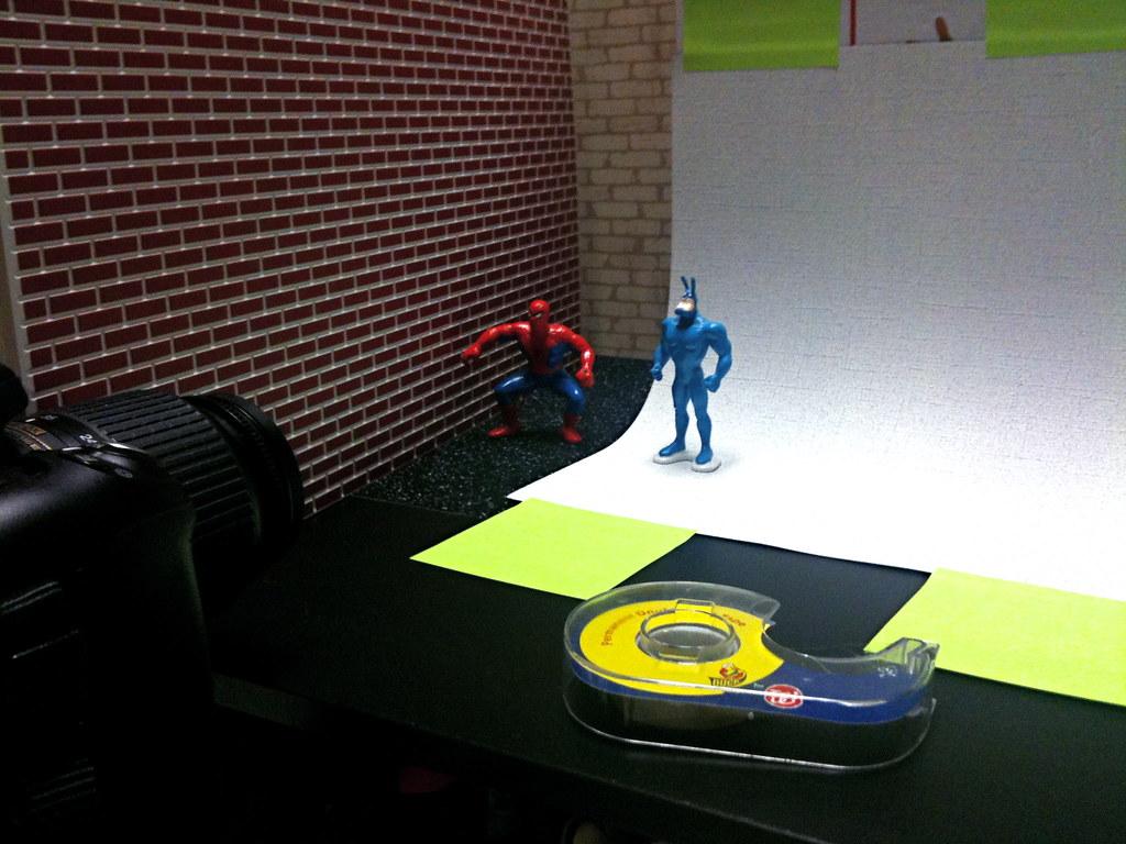 Spider-Man vs. Tick Setup