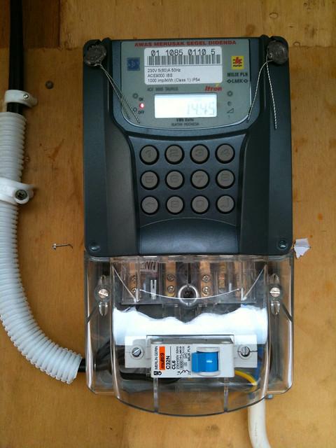 Pre-paid power meter