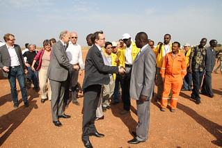 På oljefelt i Sør-Sudan