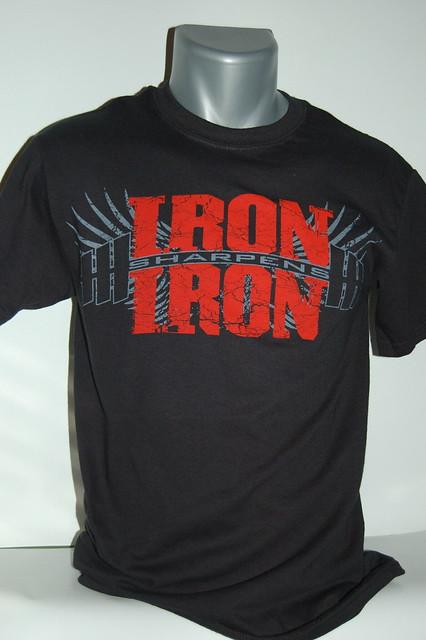 Christian Tshirt | Iron Sharpens Iron | Flickr - Photo ...