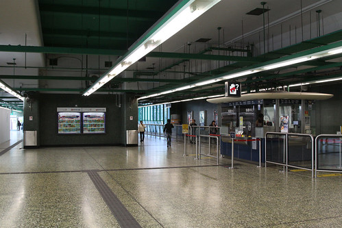 Station concourse at Chai Wan