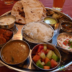 Lunch Thali at Masala Restaurant - Prague, Czech Republic