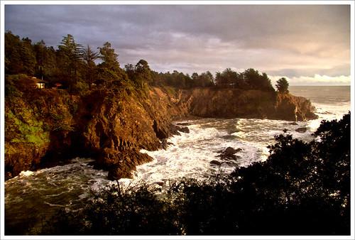 ocean california canon landscape coast scenery surf view pacific cove cliffs gualala karith serenisea xti tpslandscape