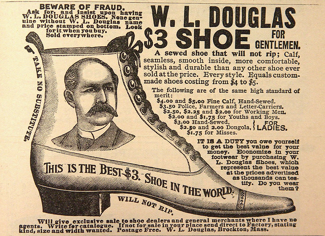 1886 ... portrait shoe!