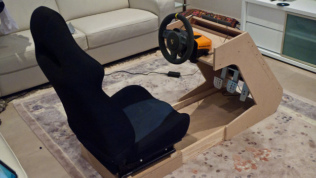 Saad 39 s racing simulator for Build your own house simulator