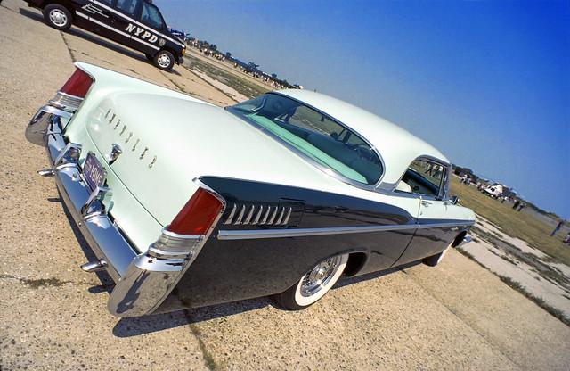 1958 Chrysler @ Floyd Bennett Field Car Show Kodachrome 64 Slide