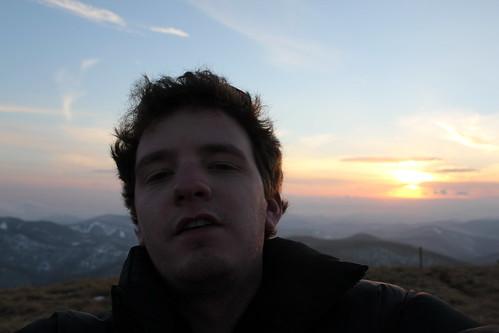 blue winter sunset mountain snow self nc big kevin shot hiking north bald hike ridge trail smokey carolina appalachian kretschmar eoskissx4 canoneos550d eos550d canoneosrebelt2i rebelt2i canoneoskissx4 eosrebelt2i wareagle8608