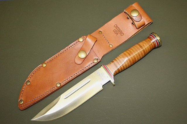Ontario P3 Us Army Quartermaster Knife Fixed Blade