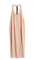 day dress, textile, clothing, cocktail dress, outerwear, peach, beige, dress,