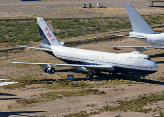 N128TW Boeing 747-143 Trans World Airlines