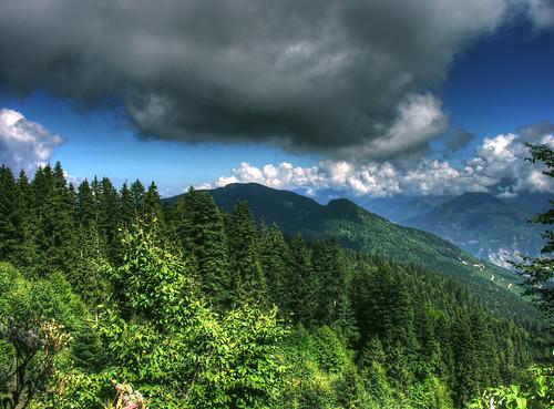 cloud mist mountain berg rock fog clouds forest turkey haze woods timber hill türkiye foggy peak mount törökország dag wald artvin hdr dağ