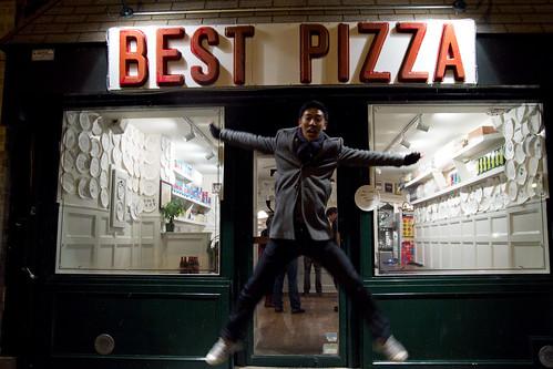 Greg + best Pizza