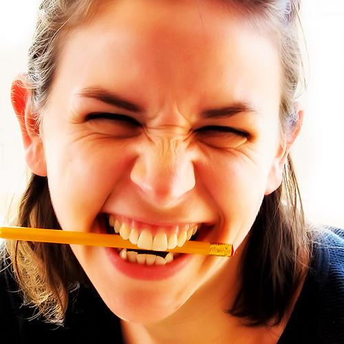 Pencil Biting