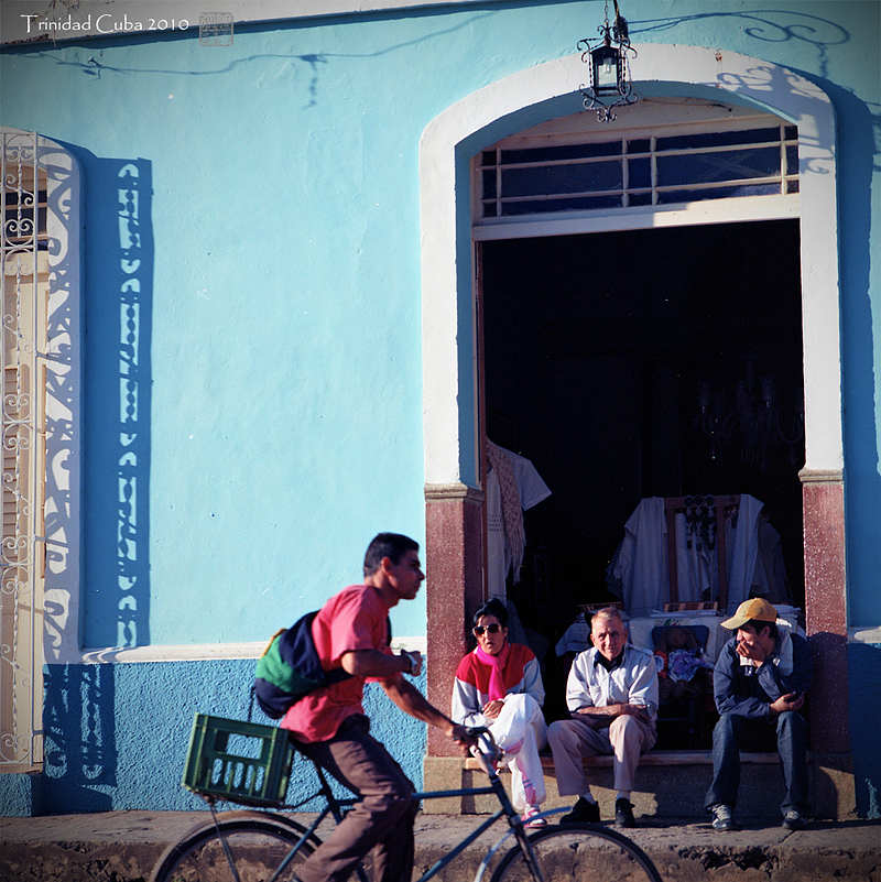 watching world goes by. @ Trinidad Cuba