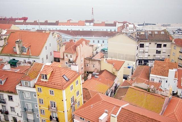 Lisbon: view from Panteão Nacional