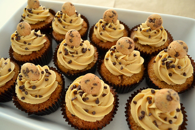 Chocolate Chip Cookie Dough Cupcakes | Flickr - Photo Sharing!