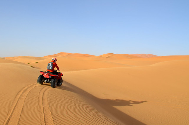 Ruta en quad por el desierto del Sahara