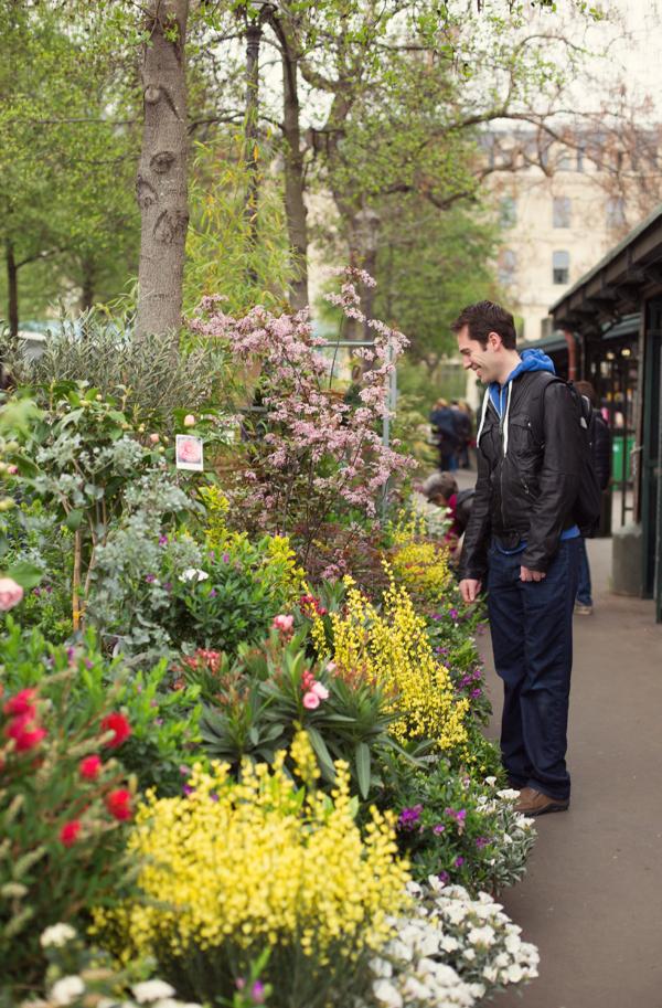Ile de la Cité Flower Market