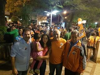 Paulinho da Força participa de campanha em Jacutinga -MG