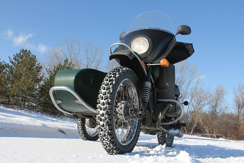 Snowy Thanksgiving Day Ride 2010 with the Ural