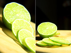 lemon-lime(0.0), plant(0.0), mojito(0.0), lemon juice(0.0), limeade(0.0), lemonade(0.0), drink(0.0), cocktail(0.0), caipirinha(0.0), alcoholic beverage(0.0), vegetable(1.0), citrus(1.0), lemon(1.0), key lime(1.0), produce(1.0), fruit(1.0), food(1.0), lime(1.0),