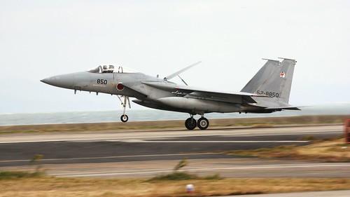 52-8850 a Japanese built F-15J of 304 Hikotai