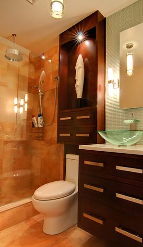 Campagn 39 art b nisterie sur mesure salle de bain - Vanite salle de bain contemporaine ...